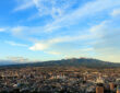 群馬県前橋市周辺と赤城山